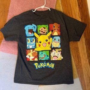 Boys Pokémon Gray Graphic Shirt